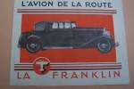 L'AVION DE LA ROUTE. LA FRANKLIN..