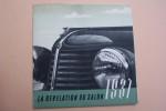 Amilcar Compound 1938. La révélation du Salon 1937. .