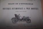 Société Anonyme des Anciens Etablissements MORISSE Frères à Etampes, Concessionnaire W.H. DOREY, rue Torricelli, Paris: Voitures automobiles à Prix ...