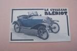 Le cycle-car Blériot, 3 Quai du Maréchal Galliéni, Suresnes..