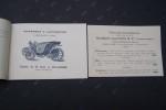 Voitures Automobiles AUDIBERT & LAVIROTTE 1896.  Ateliers de Monplaisir-Les-Lyon. Duc, Victoria, Vis-à-Vis, Cars-Ripert, Buffalo, Fourgon de ...
