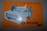 """CHEVROLET """"CORVAIR"""" Production GENERAL MOTORS (France) à Genevilliers.."""