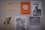 AUTOMOBILES MATHIS (Strasbourg-Gennevilliers): 8 CV - 4 CYLINDRES Type 1930, Dépliant 4 pages. Graissage et entretien des Automobiles MATHIS Type PY ...