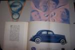 AUTOMOBILES MATFORD (Asnières, usines à Strasbourg): Les nouvelles Matford V-8 72 et V-8 76, dépliant. Ouvrage de dames: recors du 29 Mai 1937 par ...