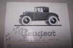 PEUGEOT: Description du chassis 5 CH - Type 172 BC..