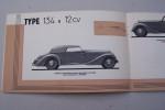 DELAHAYE 1936-1937 Palmarès du type 135 sport, Type 134 N 12 CV, Types 135 sport Coupe des Alpes et compétition,Type 148 20 CV..