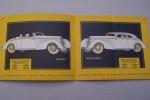 Automobiles HOTCHKISS (Usines et bureaux à Saint-Denis) Salon 1937. Modèles Cabourg, Côte d'Azur, Biarritz, Monte-Carlo, Vichy, Chantilly, Modane..