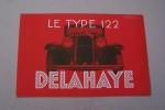 Le type 122 DELAHAYE. Description du chassis..