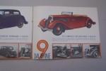 Automobile BERLIET: Deux voitures de grande classe: Les 9 CV et 11CV DAUPHINE..