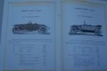 Automobiles G. BARRE à Niort. Description des chassis. Torpédo 2 places. Torpédo 4 places. Torpédo transformable. Voiture de voyageur. Torpedo sport. ...