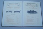 """Société Anonyme des Automobiles """"UNIC"""" Georges RICHARD Constructeur, 1 Quai National à Puteaux. Catalogue 1912. Voitures de tourisme 8, 12, 17 HP. ..."""