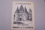 XVIIe Concours du Bidon de 5 litres à La Ferté-Bernard 6 Septembre 1936. Règlement, temps-limites, Résultats du XVIe Concours (15 Septembre 1935) et ...