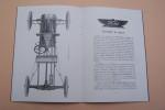 FORD The Universal car 1903-1913. Automobiles Ford, Detroit, Michigan, U.S.A. La voiture légère Ford: Description du chassis..