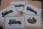 Automobiles HORCH 8: Faeton, Cabriolet-sport, Cabriolet Pullman, Limusina de conduccion interior, Limousine Pullman, Cabnriolet de lujo, Cabriolet ...