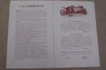 AUTOMOBILETTES A. COIGNET & J. DUCRUZEL constructeurs à Billancourt (Seine). Salon de l'Automobile au Grand Palais 7 au 22 Décembre 1912..