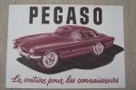 PEGASO La voiture pour les connaisseurs. Caractéristiques principales du chassis Z-103.