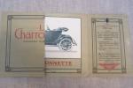 La Charronnette Voiturette légère et résistante. Charron Ltd, 7 rue Ampère, Puteaux..