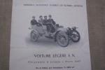 FABRIQUE NATIONALE D'ARMES DE GUERRE? HERSTAL: Voiture légère F.N. Cylindrée 2 litres, Type 1907..