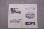 Automobiles MARTINI 1911. Usines à Saint-Blaise - Neuchatel et à Frauenfeld (Suisse)..