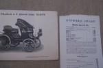 Album général au 15 Avril 1898: Société Anonyme des Automobiles PEUGEOT à Audincourt (Doubs).Usines à Audincourt et à Lille. Dépot à Paris: 83 ...