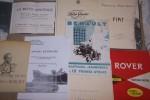 AUTOMOBILE, CAMION, TOUT-TERRAIN: La Moto Aratrice, Brevetti Ingg. PAVESTI e TOLOTTI, L. CHABELLARD à Châlons-sur-Marne. In-8 oblong, 28 pages, très ...