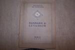 Excursion en Touraine. Panhard & Levassor 1910. Texte de Ernest LA JEUNESSE. Caractéristiques des chassis 2 cylindres(8 chevaux), 4 cylindres et 3 ...