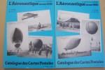 Catalogue des cartes postales. L'aéronautique (avant 1914).. SIMON E. et R. LEMAIRE