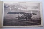 """Excursions aériennes au Mont-Blanc à bord des avions """"Henry Potez"""" Aérodrome de Passy-Mont-Blanc-Le Fayet(Haute-Savoie).."""