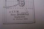 Note sur l'utilisation des aéroplanes pour le lancement des projectiles.. JOANNETON Henry