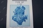 BUGATTI Type 57 3L300. La conduite intérieure. Le cabriolet..