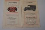 """Camionnettes sur chassis 10 CV """"CLASSIC"""". Magasin: Léon MAX & Cie, 16 av. de la Grande Armée.."""