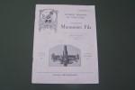 Appareils modernes de vinification Etablissements MARMONNIER Fils à Lyon, 131 Avenue Felix Faure. Janvier 1933..