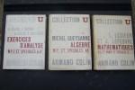 Collecyion U: Algèbre (M.P. et Spéciales AA4). Mathématiques (P.C.2ème Année et Spéciales B t3).. QUEYSANNE Michel, Léonce LESIEUR et Jean LEFEBVRE, ...