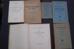 AERODYNAMIQUE, CALCUL DES AVIONS: HUGUET et SUFFRINHEBERT: Calculs aérodynamiques des avions, Béranger, 1922. HAUS Fr.-Ch. Stabilité et maniabilité ...