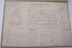 Diagrammes et dimensions principales des machines et tenders des Chemins de Fer de Paris à Lyon et à la Méditerranée (Réseau Algérien) au 1er Juillet ...