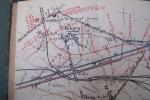CHEMIN DE FER: Ligne de Bobigny à Sucy-Bonneuil et raccordements directs avec les lignes de Paris-Strasbourg, à Gagny et de Paris-Mulhouse, à ...