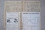 CHEMIN DE FER DU NORD: Services directs avec l'Angleterre, l'Allemagne & la Hollande, 1er Janvier 1876, Brochure -horaire, in-8, 21 pages. Chemins de ...