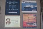 CHEMIN DE FER: Catalogue timbres ferroviaires, 1974. La Fête du rail à Orly-Sud, 1979. FRENCH RAILWAYS, illustré par Luc Marie Bayle, 1960. French ...