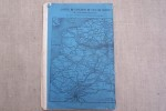 CHEMIN DE FER DU NORD: Tableaux des heures de départ & d'arrivée des Trains de Voyageurs 1er Décembre 1871..