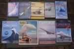 CONCORDE: TURCAT André, Essais d'hier, batailles d'aujourd'hui, Cherche Midi, 2000. CALVERT Brian, Flying Concorde,Airlife, 1981. MORISSET Jacques, ...