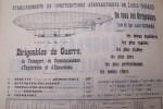 BALLONS MILITAIRES. DIRIGEABLES, AEROPLANES, BALLONS LIBRES sont la Spécialité des Etablissements de Constructions Aéronautiques Louis GODARD. ...