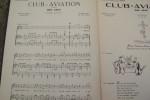 Club-aviation. One step. A l'Aéro-Club de l'Aisne. Orchestre de And. ERGEY.. RAY LEB