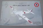 DECOUPAGE LE MODELE EXACT:  Avion de chasse DEWOITINE D.500. .