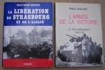 DEUXIEME GUERRE MONDIALE: Robert LEROUVILLOIS: Et la liberté vint de Cherbourg 1944, Corlet, 1991. Yves BUFFETAUT: La Bataille de Moscou 2 Octobre ...
