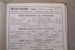 Notice technique de l'hélice RATIER équipement propulsif pour avion CAUDRON 445(Goëland)..