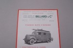 Fourgon mixte d'incendie BILLARD & Cie à Tours..