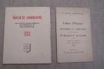 Société Lorraine des anciens établissements DE DIETRICH & Cie de LUNEVILLE 1880-1950.Tableau d'Honneur des ouvriers et employés des usines de ...