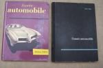 L'ANNEE AUTOMOBILE N°2(1954-1955),  3(1955-1956), 6(1958-1959), 8(1960-1961), 11(1963-1964), 12(1964-1965, 16 (1968-1969) à 22, 24 à 28, 35 à 39 ...