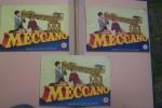 MECCANO: Manuel d'instruction 3 (1956), 3A (1959), 4 (1954)..