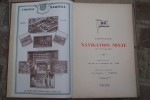 COMPAGNIE DE NAVIGATION MIXTE (Cie TOUACHE) 1935. Siège social: 24 Rue de la république à Lyon, Direction: 1 La Canebière, Marseille..